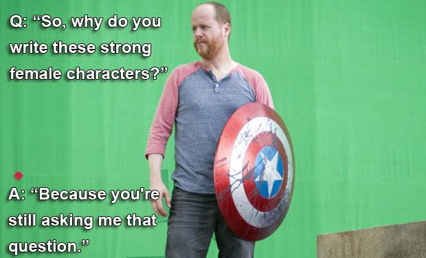 joss whedon feminist essay With this essay only weeks old, many twitter users slammed whedon for his hypocrisy on a personal level, too feminist as fuck to call ivanka trump sweetie feminist.