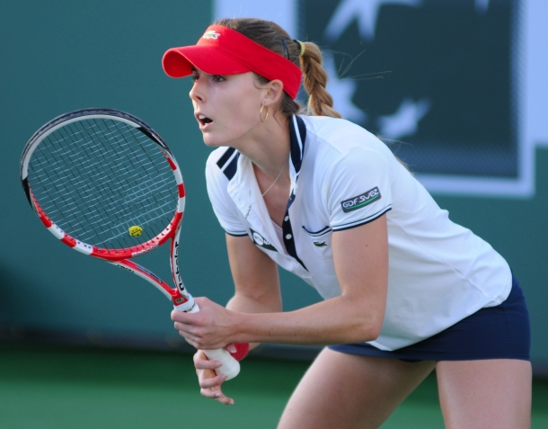 Alize Cornet via thewisdomtoothblog.wordpress.com: Stop Cutting Corners!